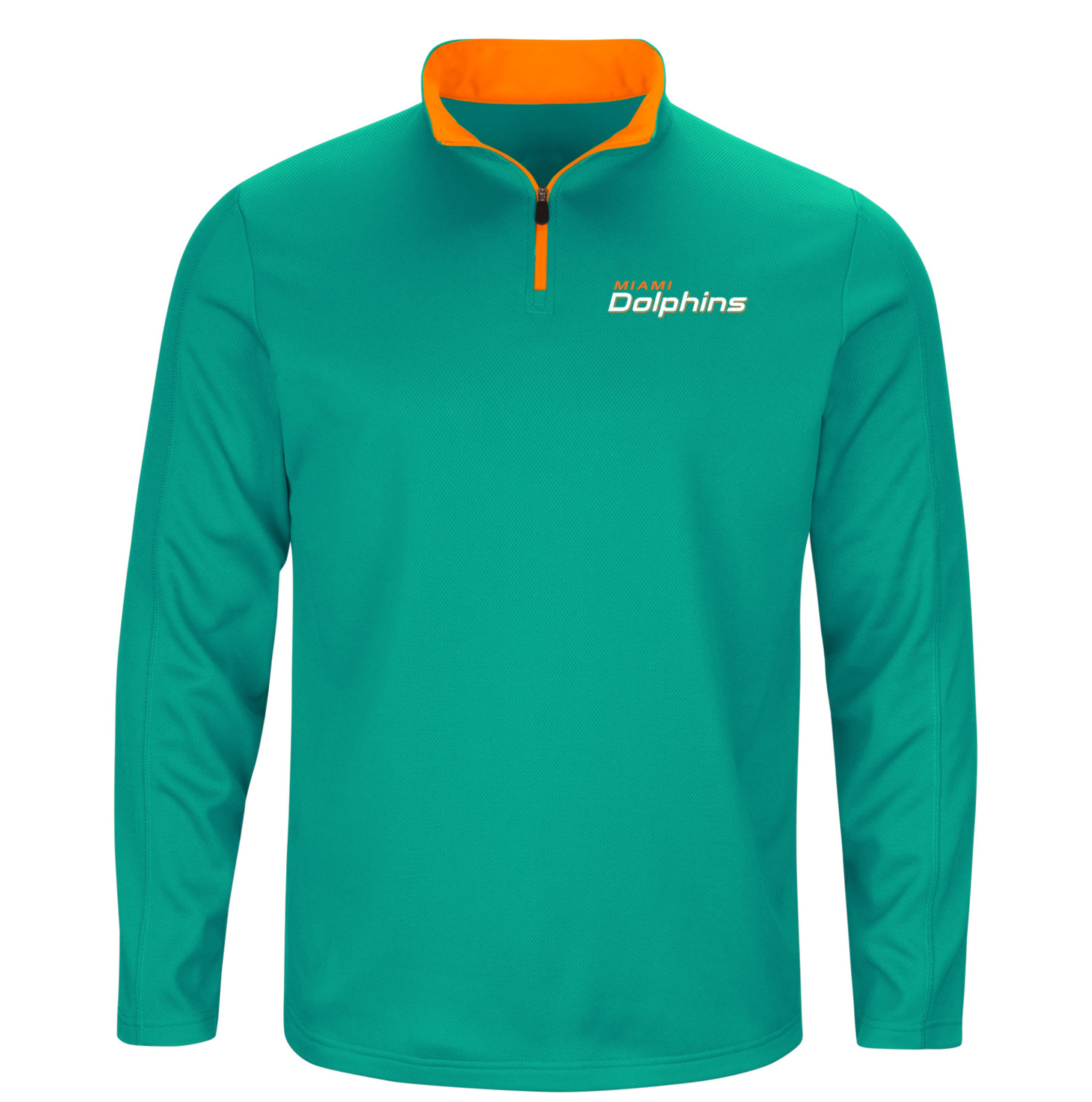 NFL Miami Dolphins Delivering Victory Men's 1/4 Zip Fleece