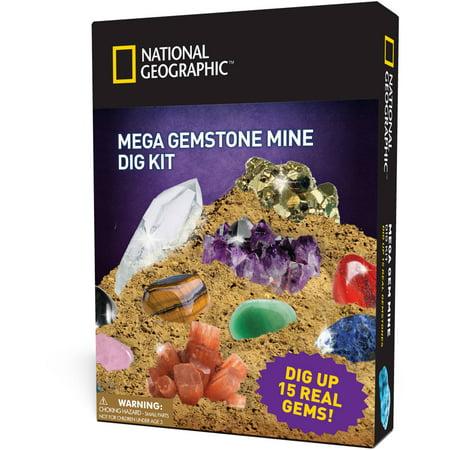 National Geographic Super Gemstone Dig Kit