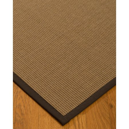 Naturalarearugs Banfield Sisal Area Rug 3 Feet By 5 Fudge Border