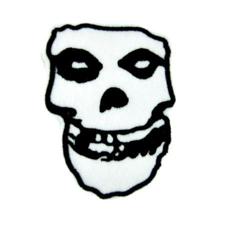 Misfits Skull Patch Iron on Applique Glenn - Halloween Misfits Danzig