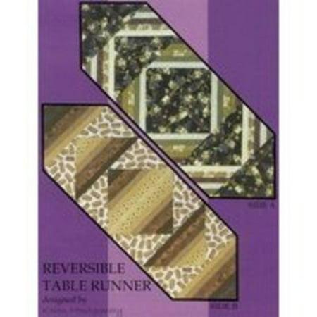 Reversible Table Runner Quilt Pattern](Halloween Table Runner Quilt Patterns)