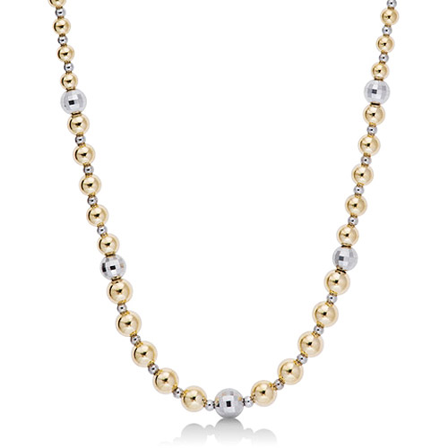 Love, Earth Graduated Bead Necklace