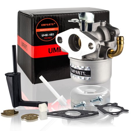 UMPARTS UMB-401 Carburetor for Briggs & Stratton Craftsman Tiller Intek 190  6 HP 206 5 5hp Engine