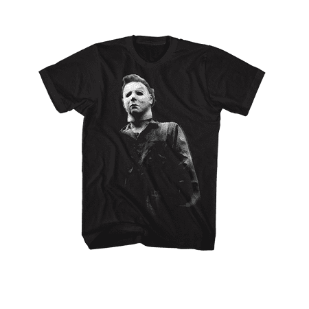 Halloween Movie Michael Myers BOO Tee Shirt - Black, 3XL for $<!---->