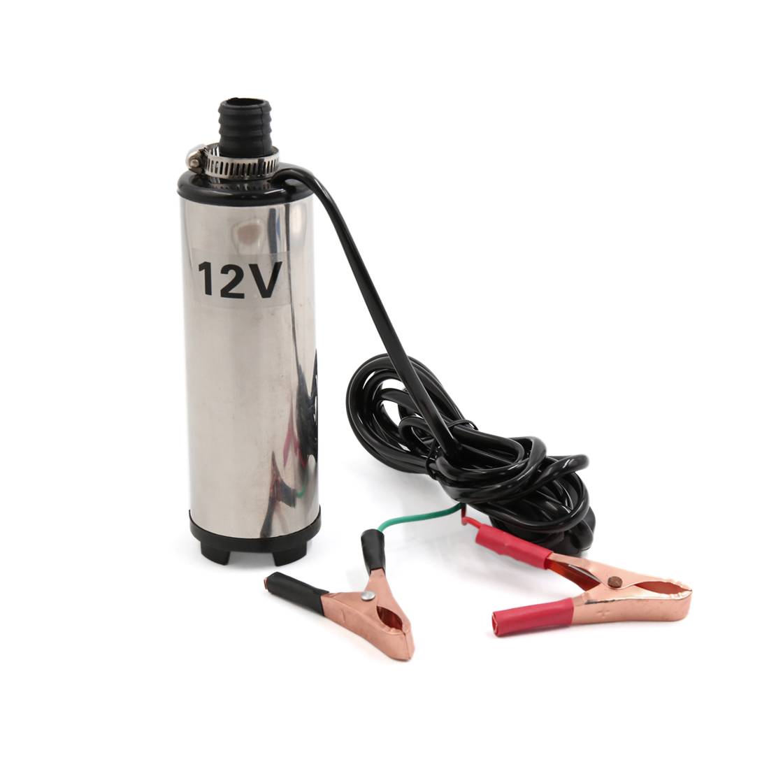 DC 12V Stainless Steel Submersible Fuel Water Liquid Oil Pump for Car Vehicle by Unique Bargains