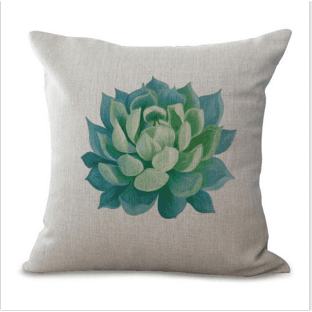 Dare Cover (Moaere Cactus Plants Green Succulent Decorative Throw Pillow Case Cushion Cover Clearance 18