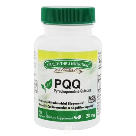 Health Thru Nutrition PQQ 20mg 30 Capvegi, Pack of 2