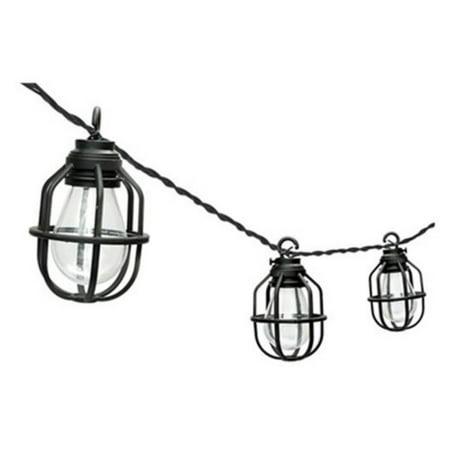 Paradise Garden Lighting Edison Cage LED String Light - Set of - Paradiso Garden