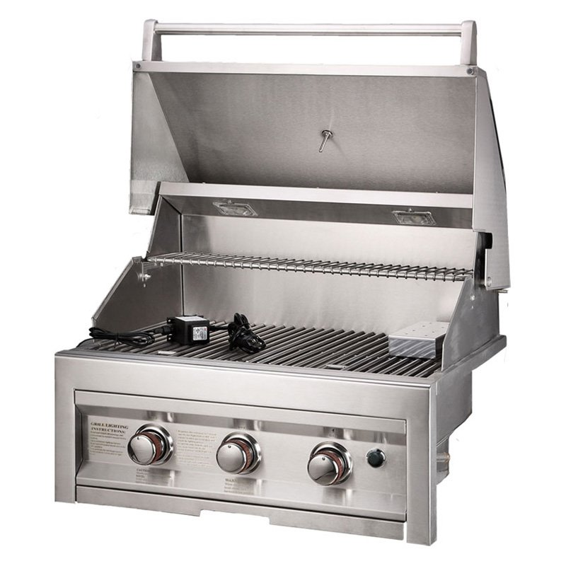 Sunstone Grills 3 Burner 28 In. Built-In Gas Grill by Texas BBQ Wholesalers