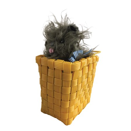 Toto in Basket Prop Wizard of Oz 511 - Wizard Of Oz Toto Dog In Basket