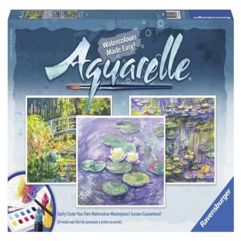 Ravensburger Aquarelle Monet - Arts and Crafts Kit