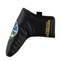 Golden State Warriors Black Putter Blade Cover - No Size