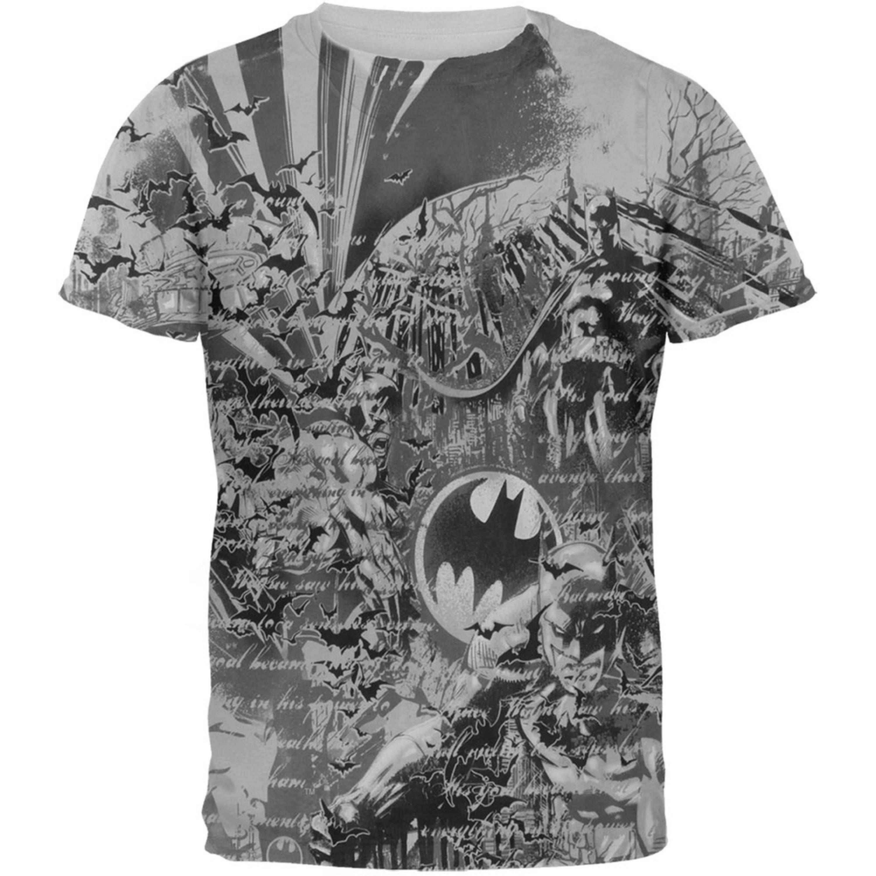 Batman Batarang All-Over T-Shirt by