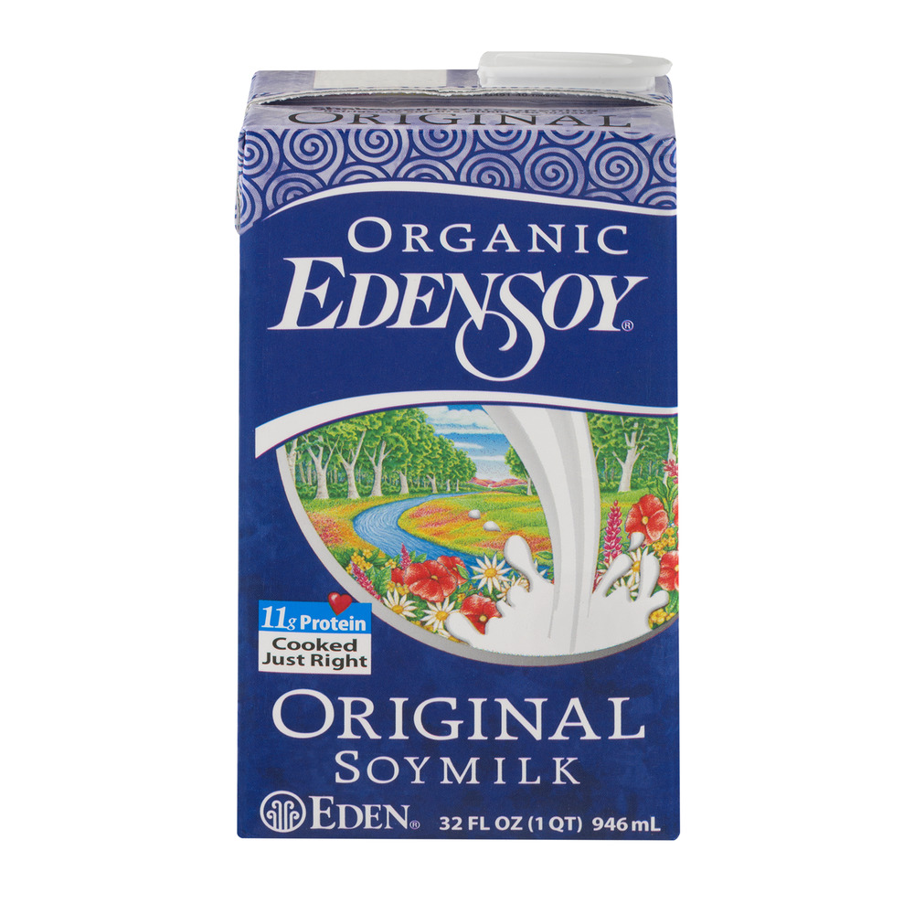 Edensoy Organic Soy Milk Original, 32.0 FL OZ by EDEN FOODS, INC.