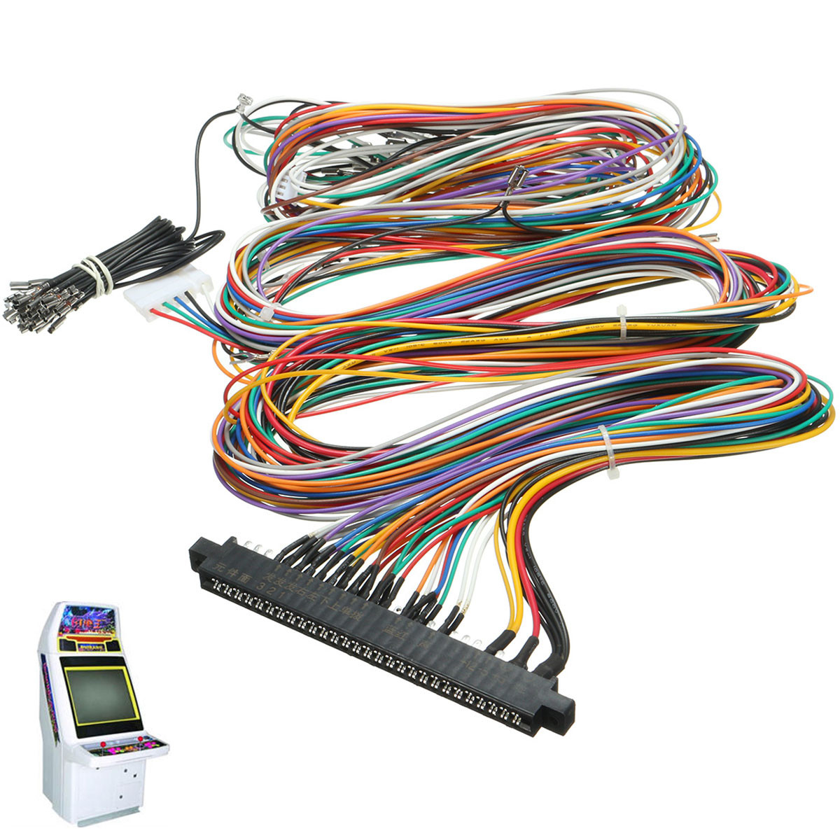 Wiring Harness Cable Replacement Parts Assemble For Arcade Jamma Board Diagram Machine