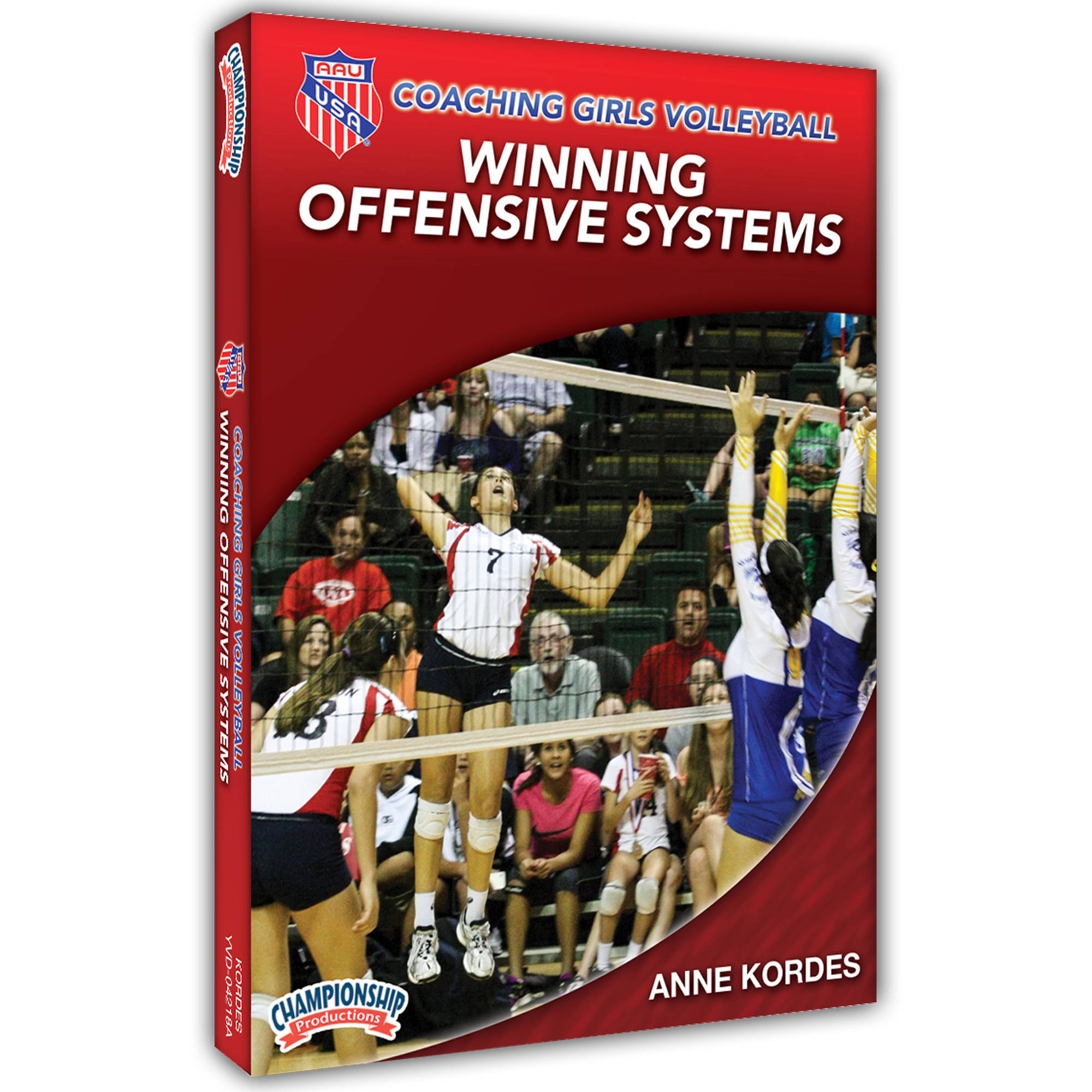 AAU Coaching Girls Volleyball Series: Winning Offensive Systems DVD