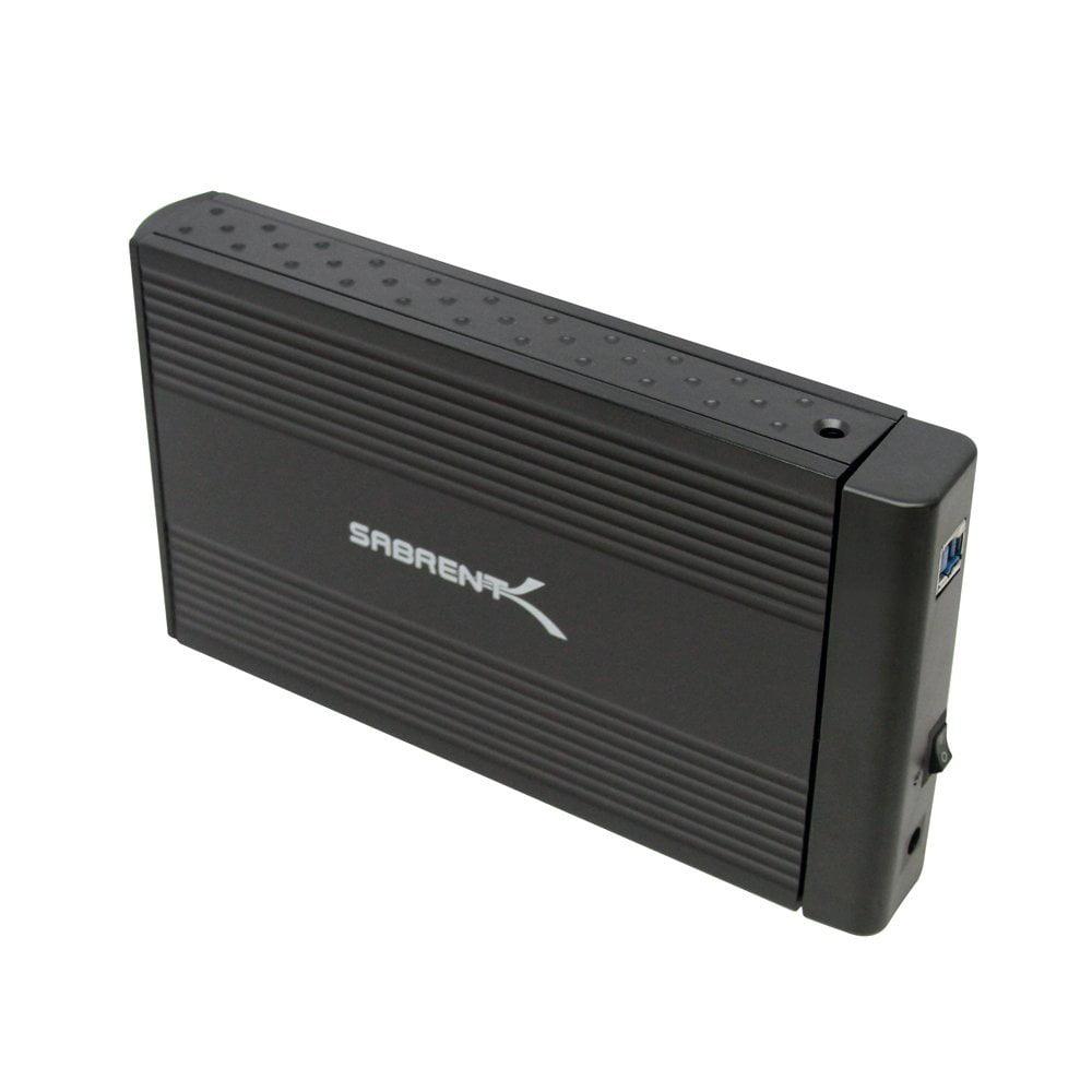 Sabrent 3.5-Inch USB 3.0 SATA HDD Enclosure (EC-35UK)