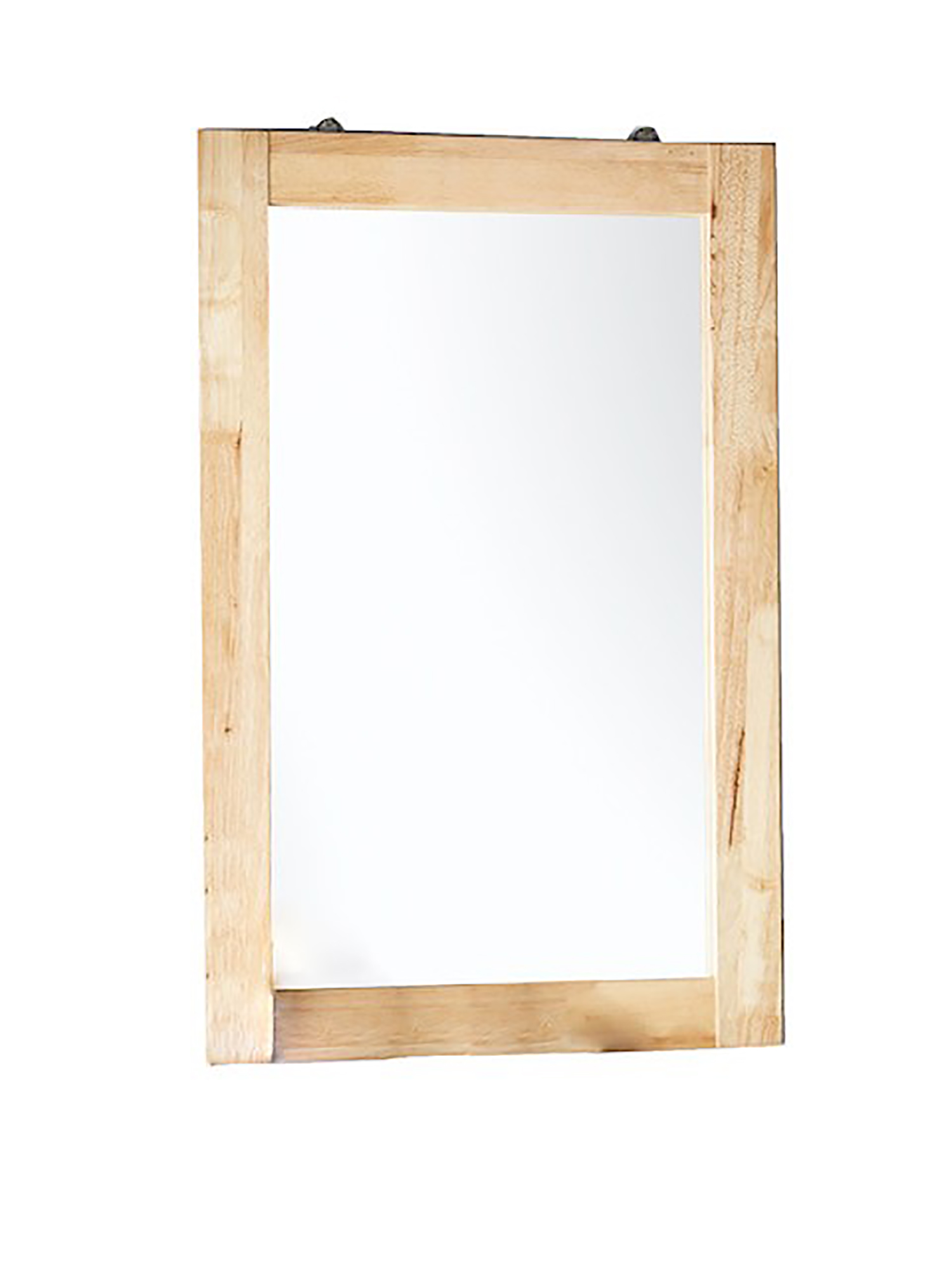 35 5 In Tioga Natural Multi Function Rectangular All Wood Wall Mirror Walmart Com Walmart Com