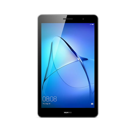 """Huawei MediaPad T3 8"""" Tablet - 2GB RAM, 16GB ROM, Android 7, 2MP+5MP AF cameras, WiFi, SWS 3.0 speaker, MicroSD card slot - Gray"""