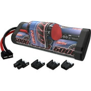 8.4v 5000mAh 7-Cell Hump Pack NiMH Battery with Universal Plug System