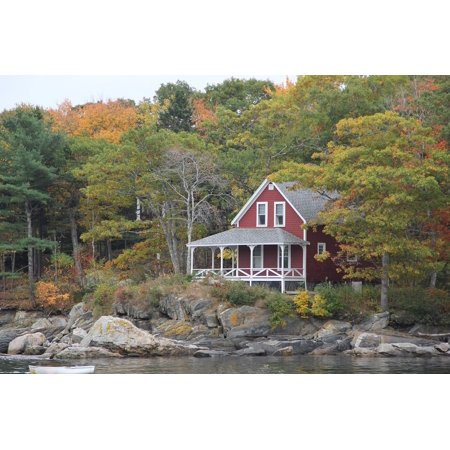 Framed Art for Your Wall Cottage House Colors Country Home Home New England 10x13