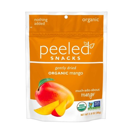 Peeled Snacks Organic Dried Fruit, Much-Ado-About-Mango, 2.8 Ounce 2.8 Ounce (Pack of 1)