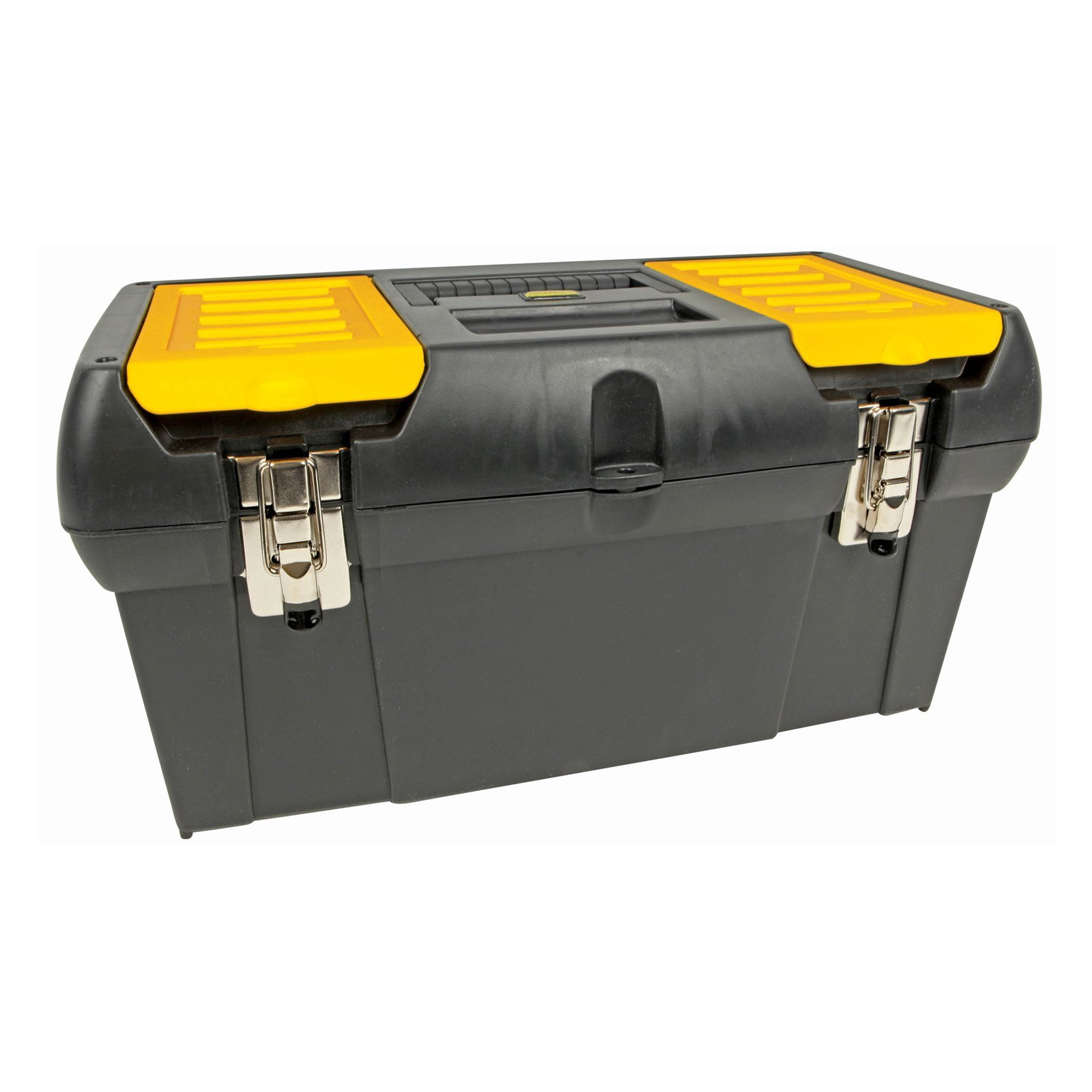 Stanley Series 2000 Toolbox with Tray, 2 Lid Compartments