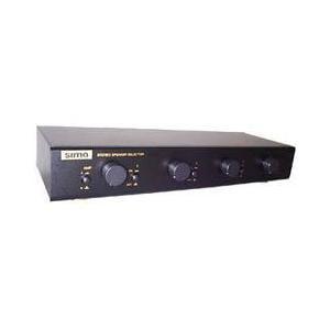 Sima (SSW-L4EX) SSW-L4EX Speaker Selector with Volume Control, 4 Pairs