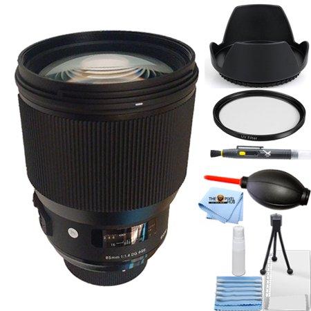 Sigma 85mm f/1.4 DG HSM Art Lens for Canon EF!! STARTER BUNDLE BRAND (Sigma 85 1-4 Art Vs Canon 85 1-2)