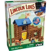 LINCOLN LOGS  Horseshoe Hill Station - 83 Pieces