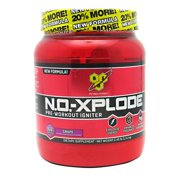 BSN N.O.-XPLODE, Grape, 2.45 lb (60 Servings)