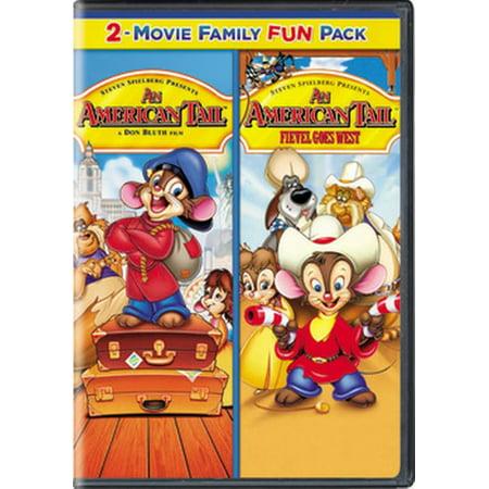 An American Tail 1 & 2 (DVD) - Cartoon Annie