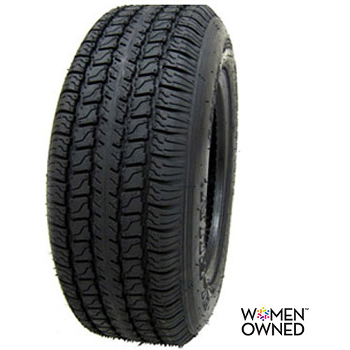 Hi Run ST Bias  Trailer Tire 205/75D15 6 Ply (Tire Only)