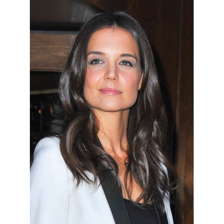 Stretched Canvas Art   Katie Holmes At Arrivals For John Frieda Precision Foam Colour Unveiling Of The Decision   Medium 16 X 20 Inch Wall Art Decor Size