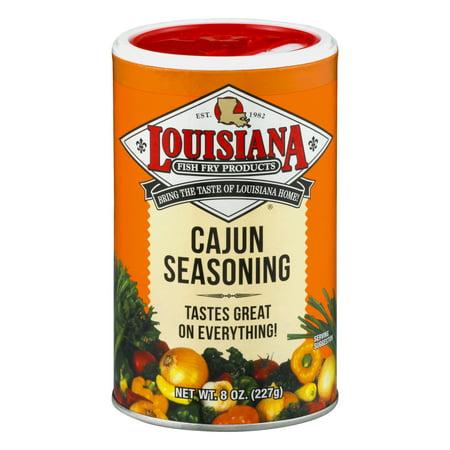 (3 Pack) Louisiana Fish Fry Cajun Seasoning, 8 oz