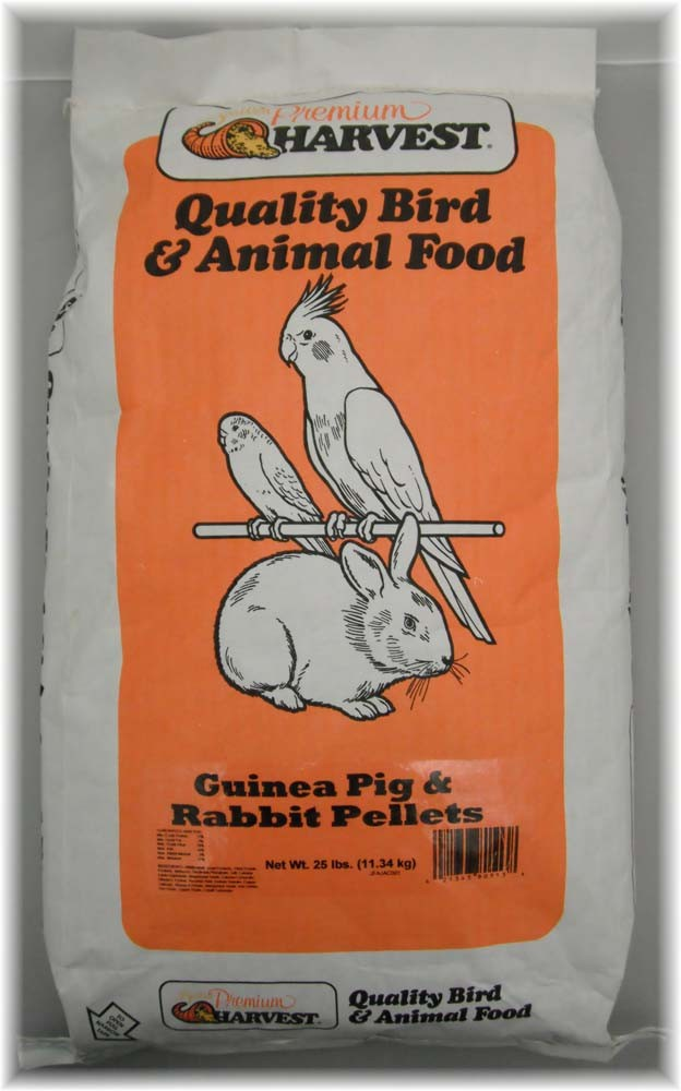 Autumn Food Chuckanut Seawest Premium Harvest Guinea Pig Rabbit Pellet Meal 25 lb by CHUCKANUT-AUTUMN SEED