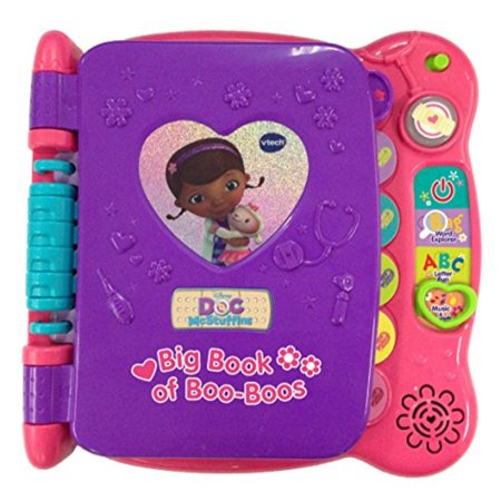 the best attitude ee335 f6109 VTech Disney Doc McStuffins Discover and Learn Big Book of Boo-Boos ...