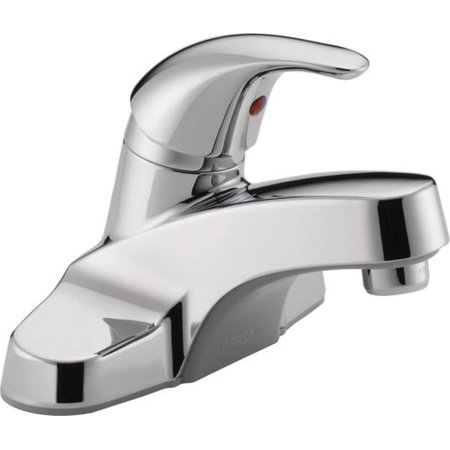 Peerless Single Handle Centerset Lavatory Faucet in Chrome P131LF
