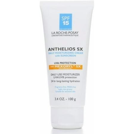 La Roche-Posay Anthelios SX Daily Moisturizing Cream with Sunscreen, SPF 15 3.4 oz