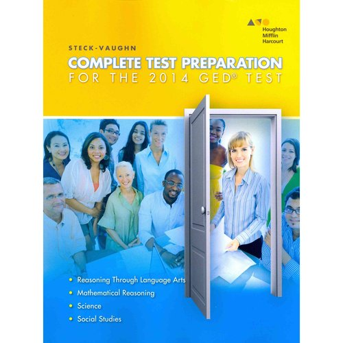 Steck-Vaughn Complete Test Preparation for the GED Test 2014