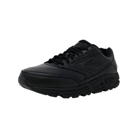 557c39dbaef Brooks Women s Addiction Walker Black Ankle-High Leather Walking Shoe -  8.5WW - image ...
