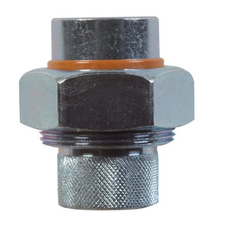 Fpt Threaded Pvc Union (BK Products  3/4 in. FPT   x 3/4 in. Dia. FPT  Galvanized Steel  Dielectric Union )