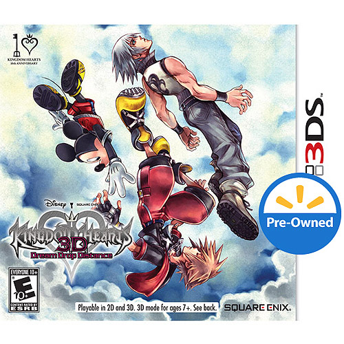 Kingdom Hearts 3D: Dream Drop Distance (Nintendo 3DS) - Pre-Owned