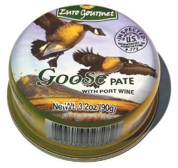 Goose Pate with Port Wine (EuroGourmet) 90g by
