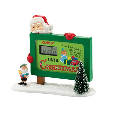 Department 56 North Pole Series Village Countdown to Christmas Accessory, (Department 56 North Pole Village)