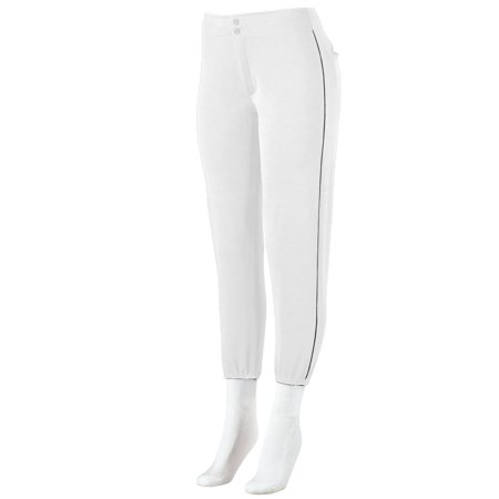 Augusta Sportswear Girls' Low-Rise Softball Pant With Piping 823
