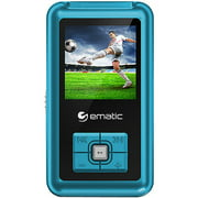 """Ematic 1.8"""" 8GB MP3/Video Player with Voice Recording & Radio"""