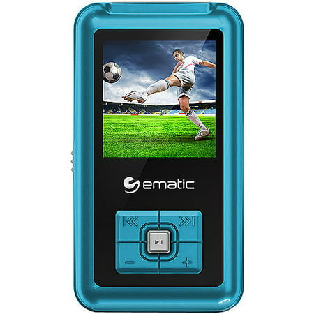 "Ematic 1.8"" 8GB MP3/Video Player with Voice Recording & Radio - Walmart.com"