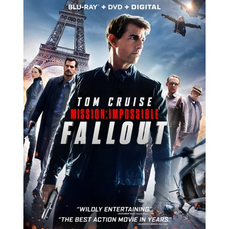 Mission: Impossible - Fallout (Blu-ray + DVD + Digital (Tom Cruise Ray Bans)
