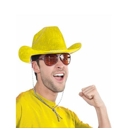 Yellow Cowboy Hat Halloween Costume Accessory